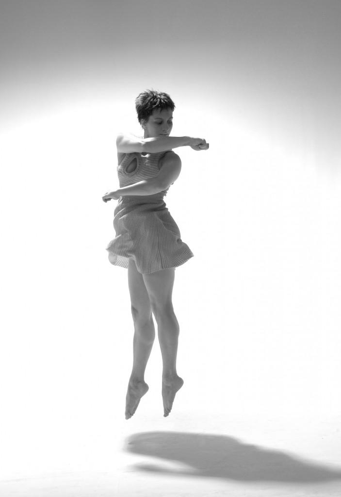 Kristin dancing